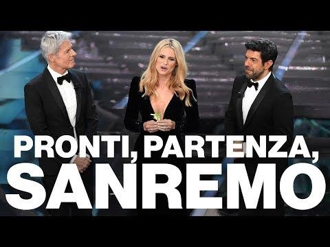 Fiori, Fiorello e fan, la prima serata di Sanremo 2018  - Timeline