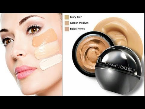 Lakme Absolute Mattreal Mousse Foundation Review and Demo from YouTube · Duration:  6 minutes 37 seconds
