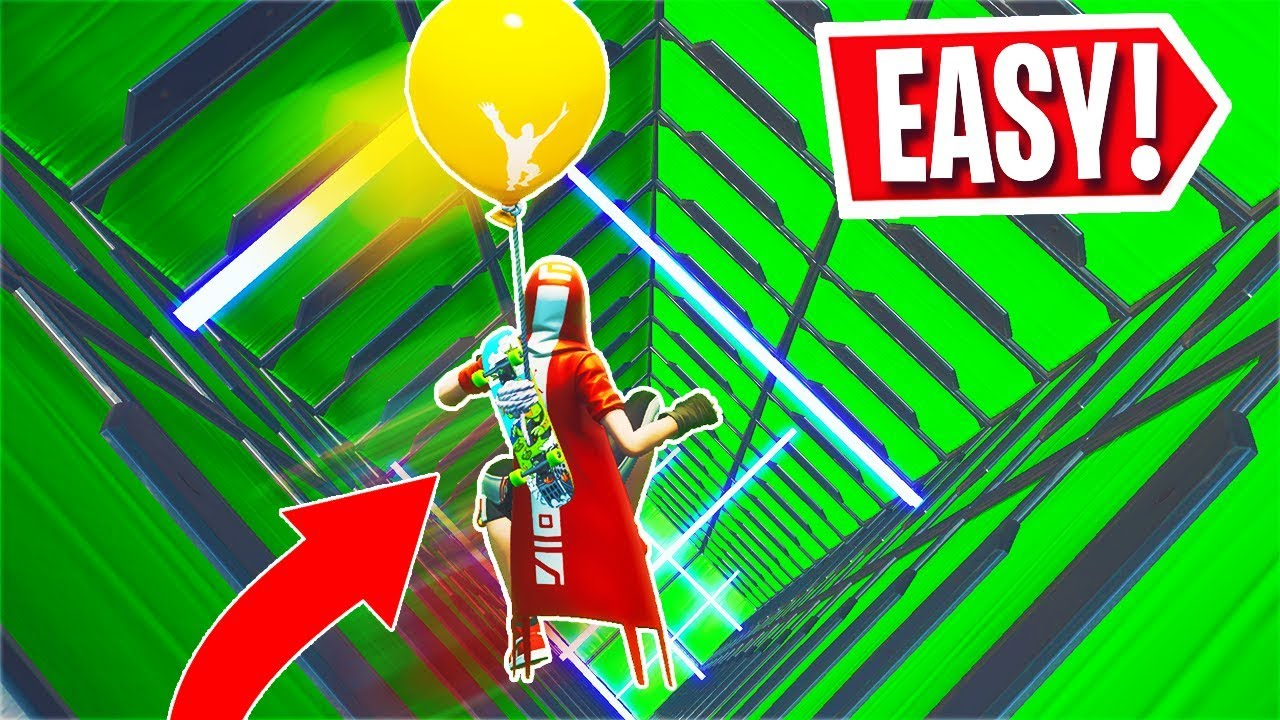This DEFAULT DROPPER is EASY + Deathrun Race... (Fortnite ...