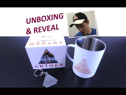b8e7ba56aeabf Official Anthem Game Merchandise Range  First Look Full Unboxing. Numskull  Designs