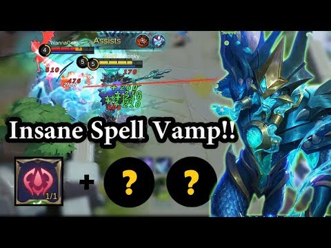 Insane Spell Vamp With This Alpha Build! | Mobile Legends Bang Bang thumbnail