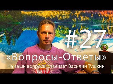 """""""Вопросы-Ответы"""", Выпуск #27 - Василий Тушкин отвечает на ваши вопросы"""