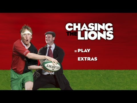 Hector Chasing The Lions Rugby Team in New Zealand 2005