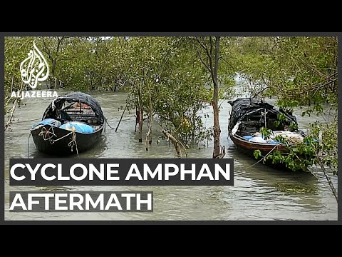 Al Jazeera English: Amphan aftermath: Seawater destroys farmland in Sundarbans