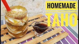 Homemade Taho | taho without gypsum | silken Tofu without Gypsum (soft tofu)