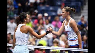 Mariam Bolkvadze vs. Karolína Pliskova | US Open 2019 R2 Highlights