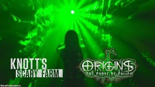 NEW Origins: Curse of Calico maze at Knott's Scary Farm