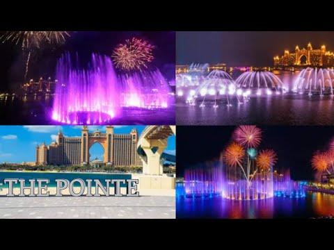 THE POINTE | Dubai UAE | The Pointe at Palm Jumeirah Dubai | World's largest Dancing Fontaine