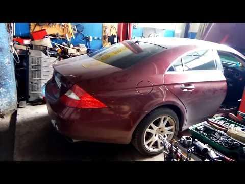 Mercedes CLS 2006г. Замена радиатора печки. Подробно.###