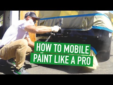 How To Do Professional Mobile Paint Repair