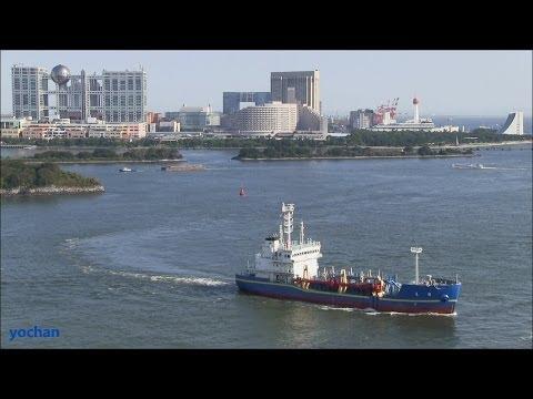 Trailing suction hopper dredger: KAIRYU (Bureau of Port and Harbor, Tokyo Metropolitan Government)