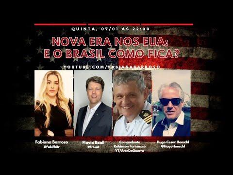 Nova era nos EUA: E o Brasil como fica?