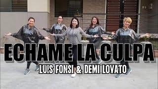 ECHAME LA CULPA | Luis Fonsi & Demi Lovato | Salsa | Zumba® | JM