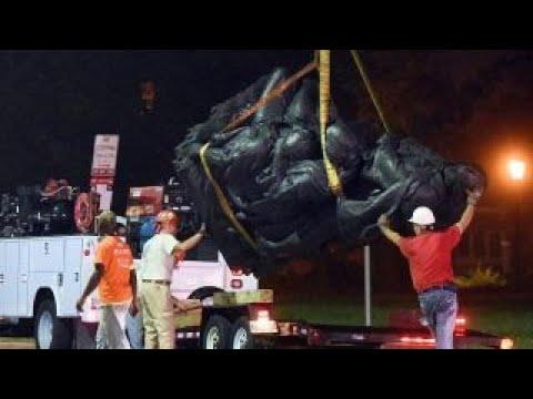 Baltimore removes Confederate statues