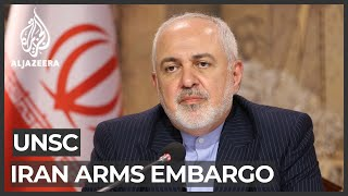 Iran's Zarif Says Ending Arms Ban 'inseparable' From Nuclear Deal