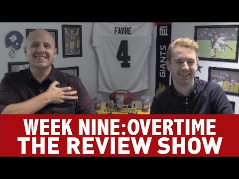 WEEK 9 OVERTIME: THE NFL REVIEW SHOW!
