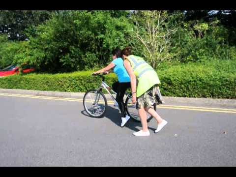 Teaching an adult to cycle
