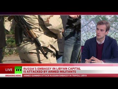 Gunmen attack, break-in attempt at Russian embassy in Libya's Tripoli