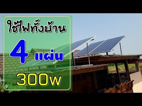 การติดตั้งโซล่าเซลล์ใช้ในบ้าน จ.ขอนแก่น ด้วยชุดโซล่าเซลล์ Solar Cell  PV-1200P ราคาใต้คลิป