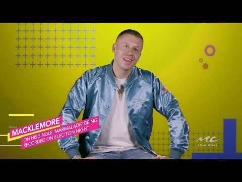 "Macklemore Records ""Marmalade"" On Election Night"