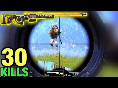 My New BEST AWM Gameplay 30 KILLS | PUBG MOBILE