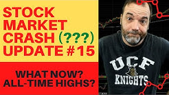 Stock Market Crash Update #15: Will The Stock Market Recover To All Time Highs?