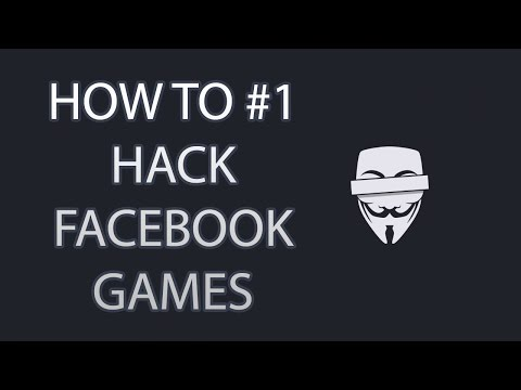 How to hack Facebook Games without any program!