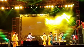 Senyum minang manis dance perfome by bank sumut