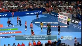 [Handball] Brasil x Sérvia - Final Campeonato Mundial 2013