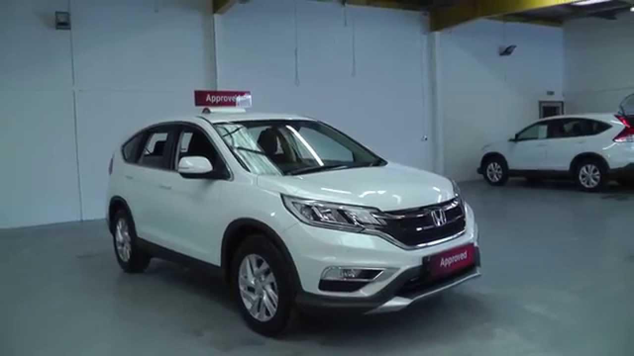 Honda CRV 2015 16 Diesel SE in white video walkaround  YouTube