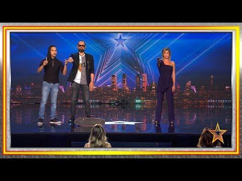 ¡INCREÍBLE! Este peruano juega con la mente del jurado | Audiciones 2 | Got Talent España 2019
