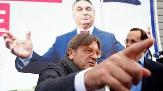 Война плакатов между Брюсселем и Будапештом