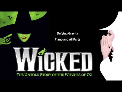 Defying Gravity | Piano and Vocal Parts