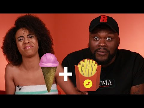People Try Fast Food Flavored Ice Cream