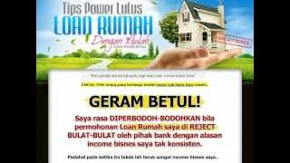 Tips Dan Cara Mudah Lulus Bahagian Pinjaman Perumahan