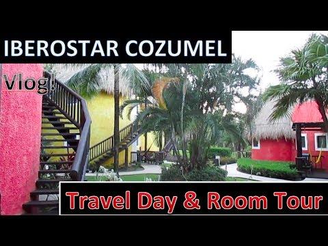 Iberostar Cozumel -- Travel Day & Room Tour (Mexico Travel Series #2)