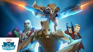 1st Look at Marvel's Guardians of the Galaxy on Disney XD - The Watcher 2015