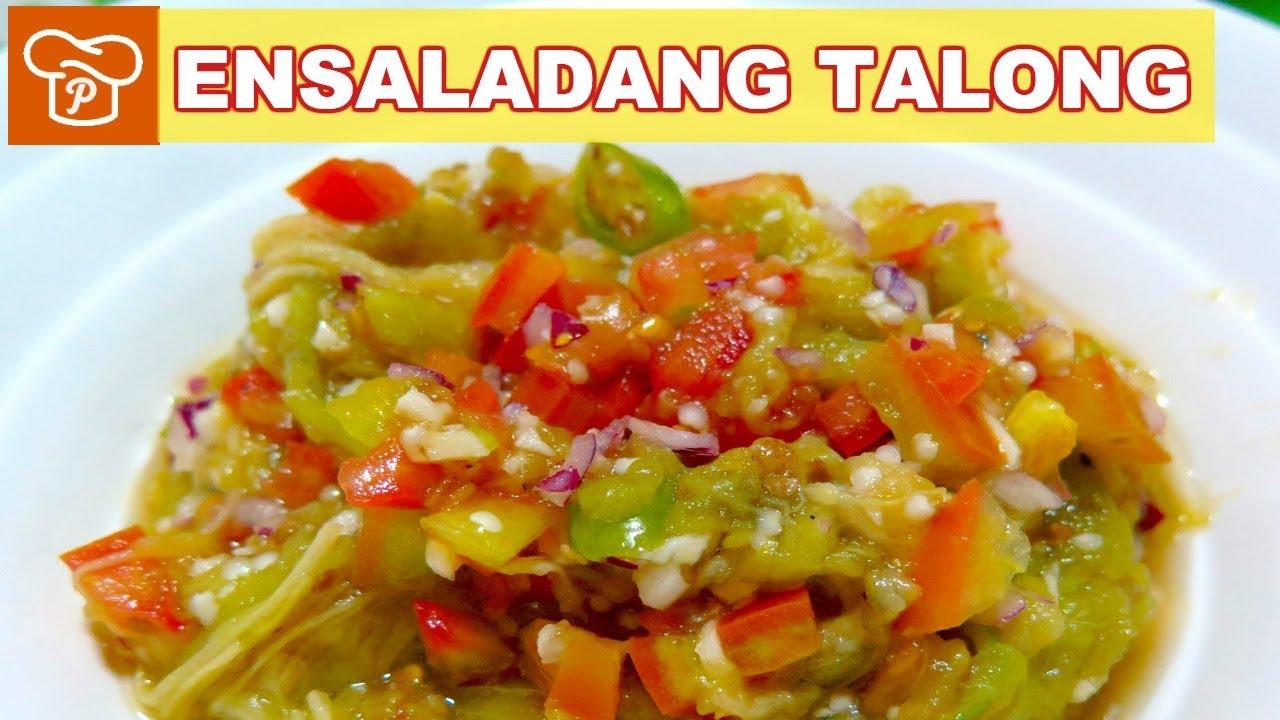 How to Make Ensaladang Talong | Pinoy Easy Recipes