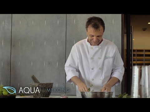 Exclusive interview with Chef David Thompson - the culinary mastermind behind the Aqua Mekong