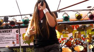 The Iron Maidens - Judas Be My Guide (LIVE @ Santa Fe Springs Swap Meet 9-17-11)