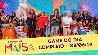 Game do Dia | Programa da Maisa (08/06/19)