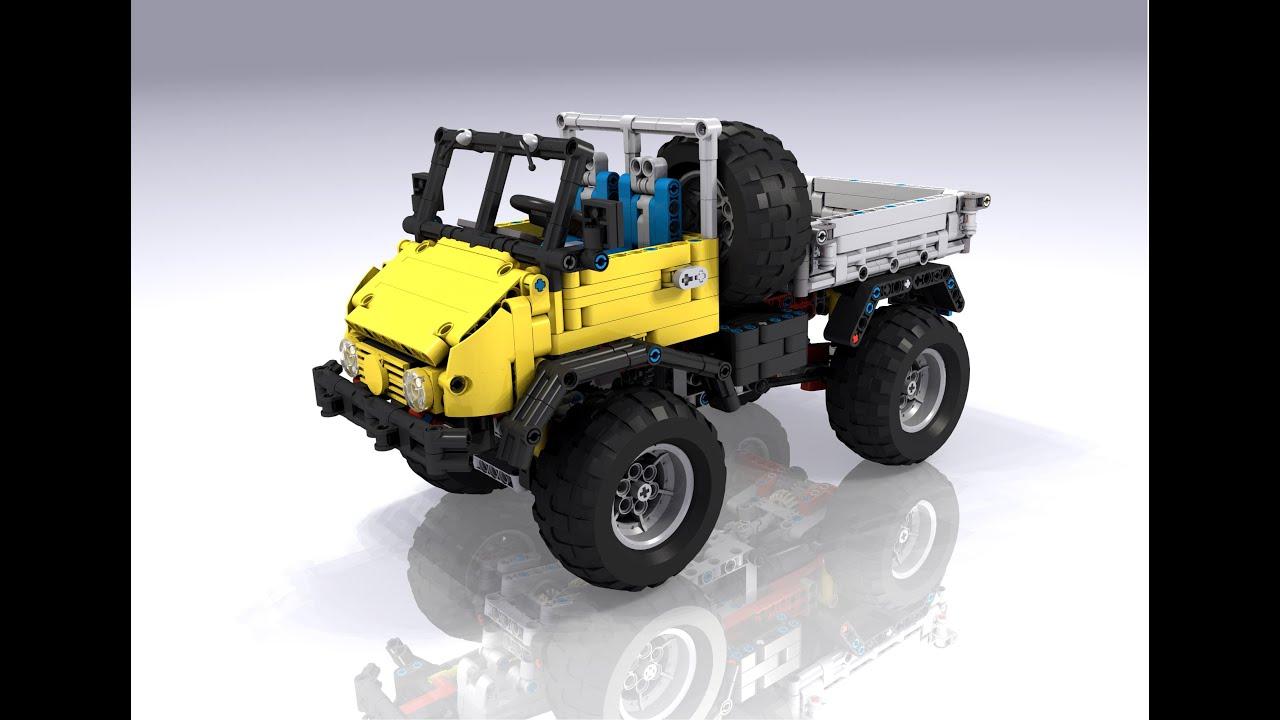 Lego Technic Moc Unimog U411 Youtube