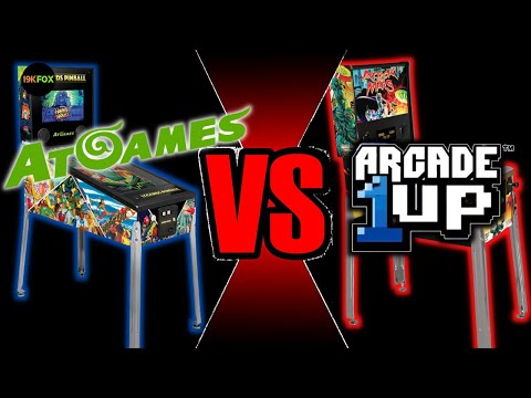 Is Arcade1up drowning in the AtGames pinball wave? from 19kfox