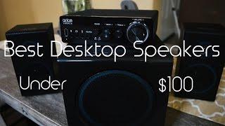 Video Best Desktop Speakers Under $100! | Arion Legacy download MP3, 3GP, MP4, WEBM, AVI, FLV Juli 2018