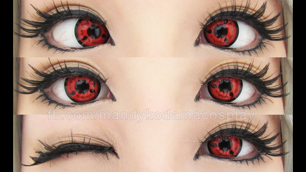 Verwonderend REVIEW: Circle Lenses - Twilight Sharingan Lens CPS1 (Sponsored by OZ-98