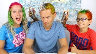 Download 3 COLOR OF HAIR DYE CHALLENGE!!! Mp3 and Videos