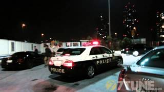 Popular Tokyo STREET RACING meeting point and Japanese Highway Police encounter