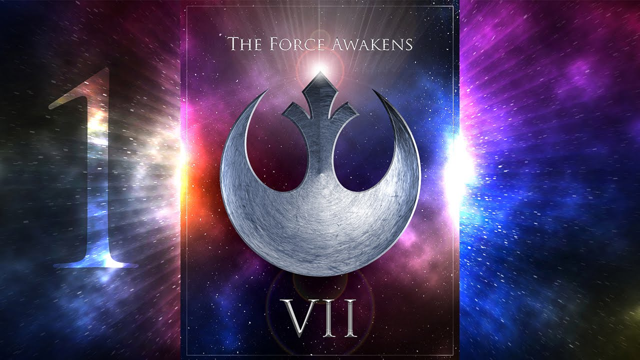 Photoshop poster design youtube - Photoshop Tutorial Part 1 Create A Powerful Poster For Star Wars The Force Awakens Episode Vii Youtube