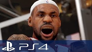 NBA 2K14 PS4 - Multiplayer Gameplay (Playstation 4 Gameplay 1080p HD)