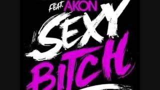 David Guetta feat. Akon - Sexy Bitch [HQ] LYRICS